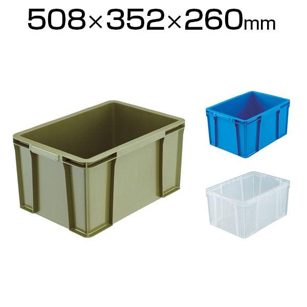 THC-35A | THC型コンテナ 収納ボックス コンテナボックス 有効内寸442×298×255mm トラスコ中山 (TRUSCO)