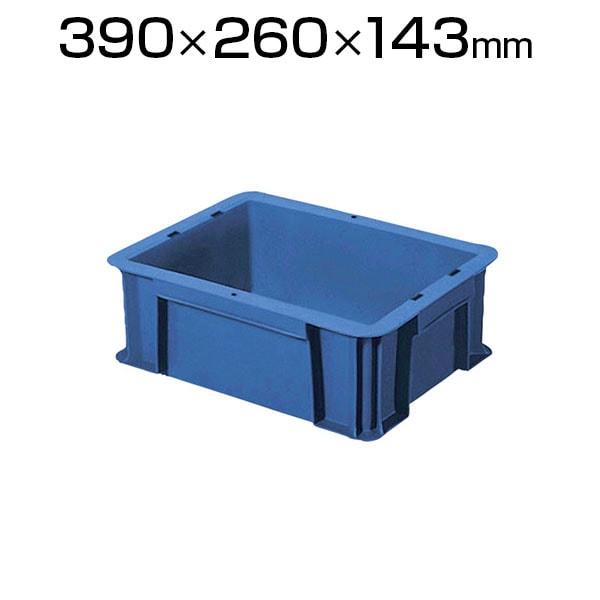TRST-10 | リサイクルコンテナ10L ダークブルー 収納ボックス コンテナボックス トラスコ中山 (TRUSCO) / 819-1165
