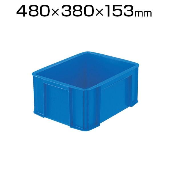 TRST20 | リサイクルコンテナ20L ダークブルー 収納ボックス コンテナボックス トラスコ中山 (TRUSCO) / 276-2579