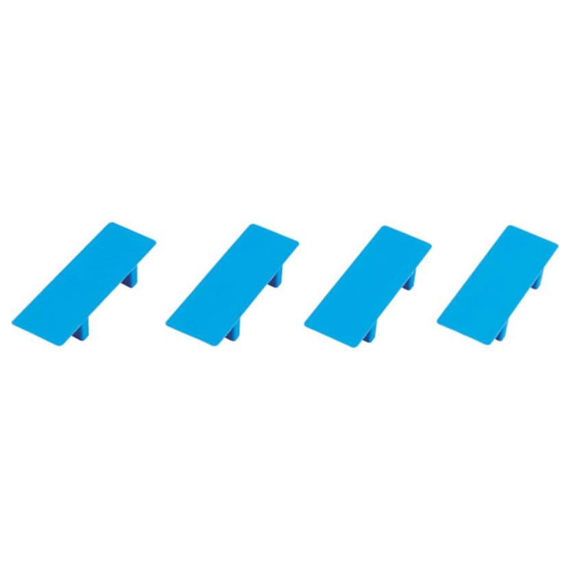 [オプション]TRUSCO 樹脂製台車 ルートバン用 天板パーツセット 幅123×奥行42×高さ18.7mm 4個入リ MPB-TP4SET
