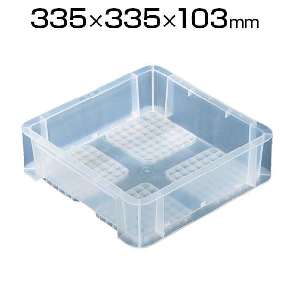 リス TP規格コンテナ 透明 TP-331B / 396-0706
