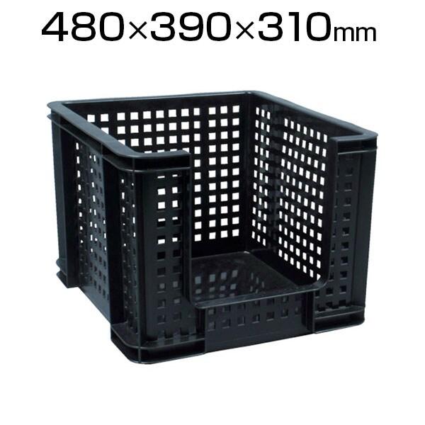RUP メッシュコンテナ オープンタイプ 35L ブラック 35OF / 856-2754