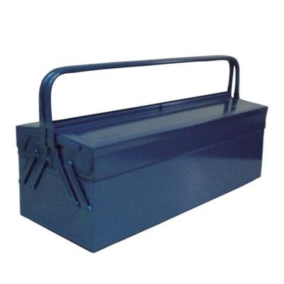 GL-600-B   2段式工具箱 ツールボックス 道具箱 国産 幅607×奥行227×高さ305mm ブルー トラスコ中山 (TRUSCO)/ 121-3563