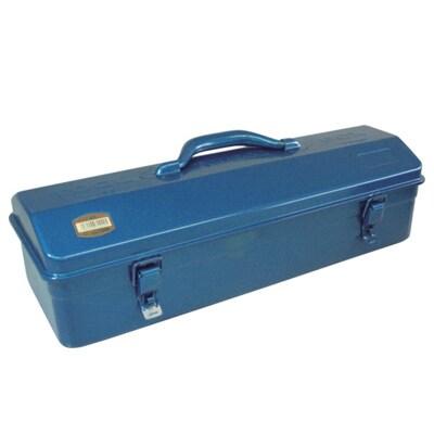 Y-455-B   山型工具箱 ブルー 国産 幅473×奥行173×高さ177.5mm トラスコ中山 (TRUSCO)/ 162-4849