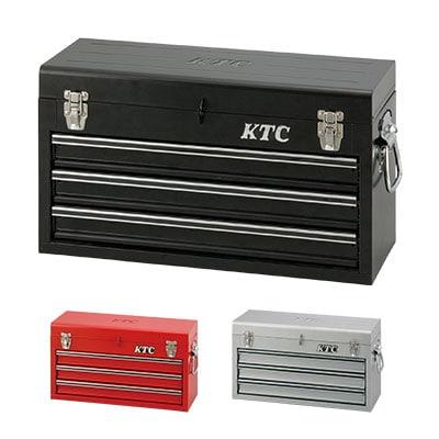 KTC チェスト(3段3引出し) トップカバーロック機構 大容量 SKX0213