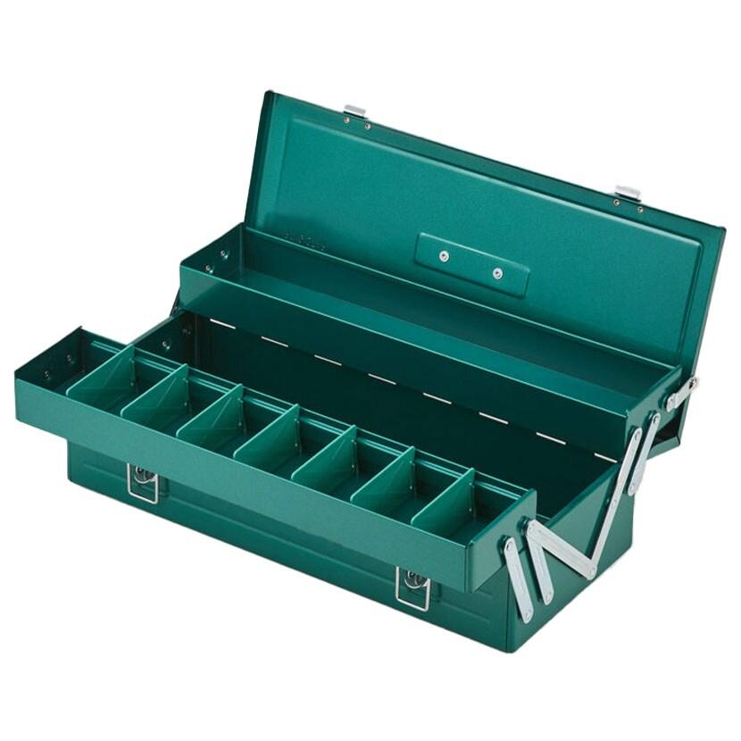 リングスター ハイクオリティボックス プロ仕様 スチール製 工具から小物まで RSD-470 グリーン RSD-470-GN