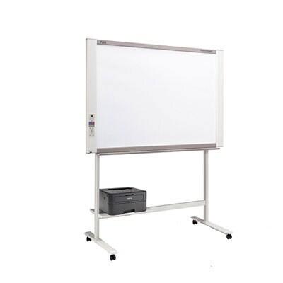 プラス ネットワークボード 電子黒板 コピーボード ホワイトボード モノクロレーザープリンタセット ボード2面/C-21SL