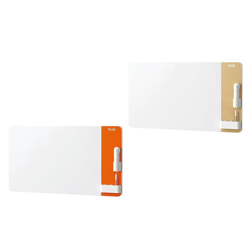 プラス CLBK-0906HM   クリーンボード クレア(CREA) 壁掛け 手動イレーザー付属 汚れない ホワイトボード 900×600mm