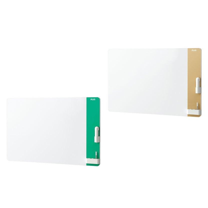 プラス CLBK-1209EM   クリーンボード クレア(CREA) 壁掛け 電動イレーザー付属 汚れない ホワイトボード 1200×900mm
