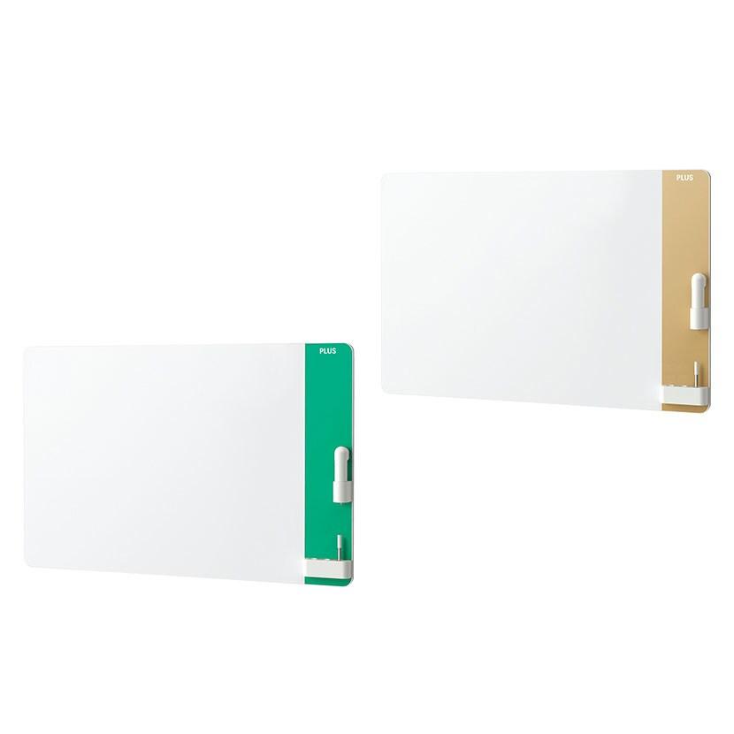 プラス CLBK-1209HM   クリーンボード クレア(CREA) 壁掛け 手動イレーザー付属 汚れない ホワイトボード 1200×900mm