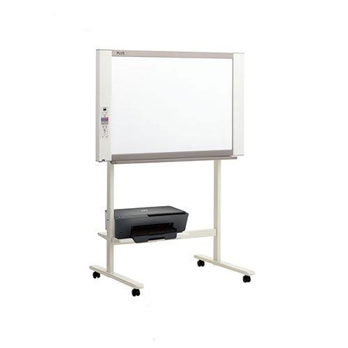 プラス ネットワークボード 電子黒板 コピーボード ホワイトボード カラーインクジェットプリンタセット ボード2面/N-21JI