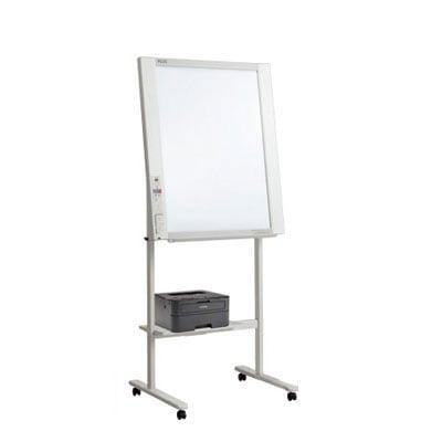 プラス 電子黒板 コピーボード ホワイトボード 縦型 ネットワークフリップチャート モノクロレーザープリンタセット ボード2面/NF-20L