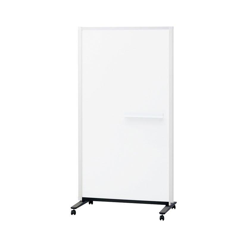 プラス パーテーションホワイトボード 連結タイプ(1連) 両面ホワイトボード(無地) マグネット対応 876×1353mm 幅964×高さ1500mm PWJ-0915DSK-C