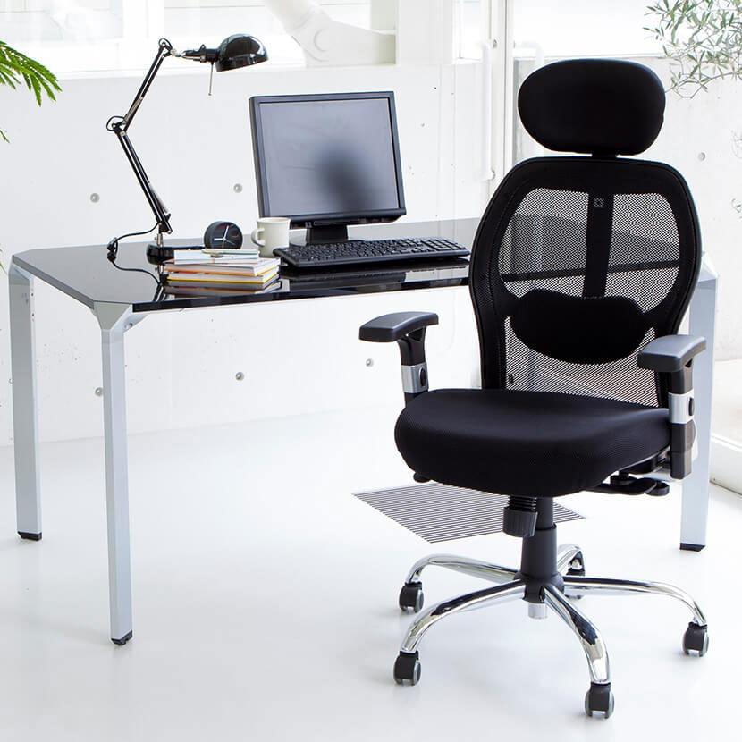 高機能オフィスチェア パソコンチェア WIEST ビエストチェア 幅670×奥行680×高さ1150〜1310mm