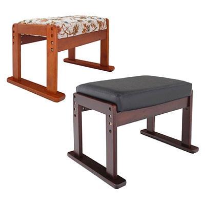 高座椅子対応オットマンスツール 幅530×奥行370×高さ330/360/390mm